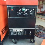 8. Kemppi RA450 MIG Welding Machine Complete With Rival 4 Drive Roll Wire Feeder Complete Package
