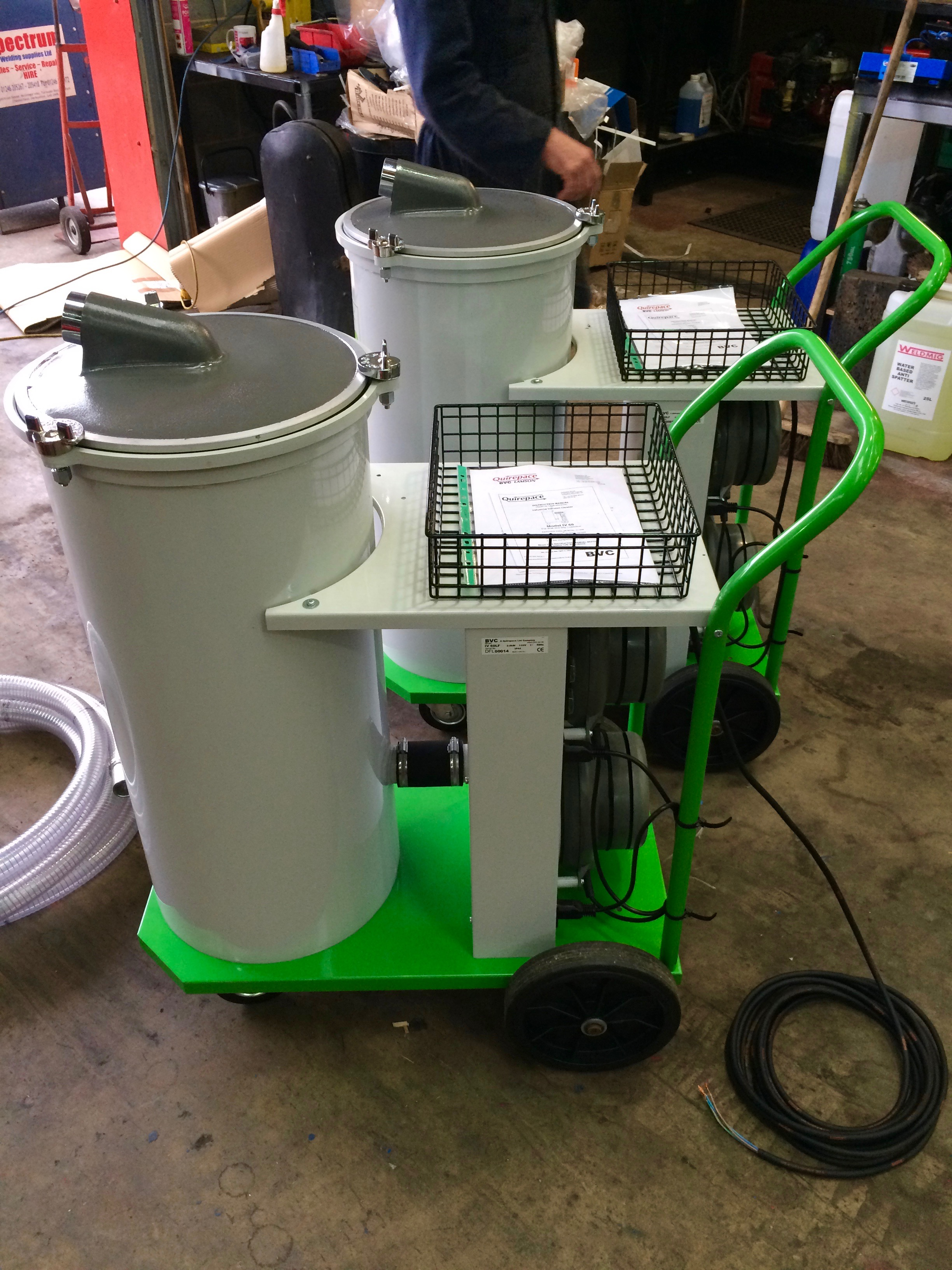 9. Brand New BVC Submerged Arc Portable Flux Recovery Unit For Hire, 110V.jpg