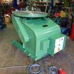 1. BODE 3 Tonne Welding Positioner For Hire and Sale, Fully Reconditioned with Foot Pedal and Pendant Remote Control including brand new machined table