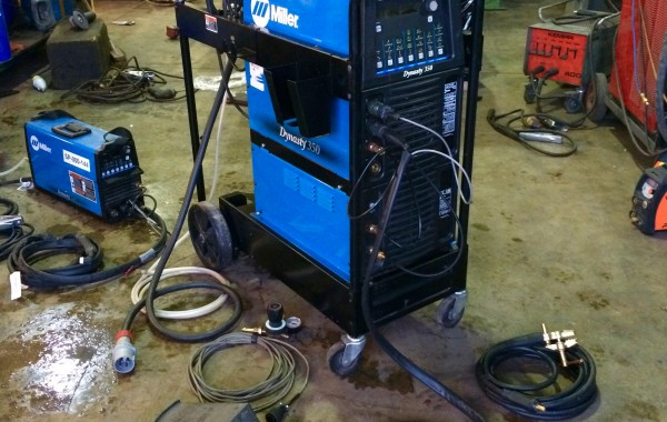 Miller Dynasty 350 AC/DC Water Cooled TIG Welder Inverter Complete Package for Hire or to Buy