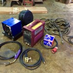 1. Thermal Arc 400GMS Inverter MIG and MMA Welding Machine, Portable Site Hire Equipment Package