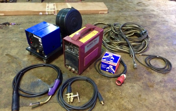Thermal Arc 400GMS Inverter MIG and MMA Welding Machine, Portable Hire Equipment Site Package