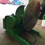 12. BODE 3 Tonne Welding Positioner For Hire and Sale, Fully Reconditioned with Foot Pedal and Pendant Remote Control including brand new machined table