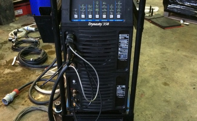 2. Miller Dynasty 350 AC:DC Water Cooled TIG Welder Inverter Complete Package for Hire or to Buy