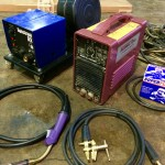 2. Thermal Arc 400GMS Inverter MIG and MMA Welding Machine, Portable Site Hire Equipment Package