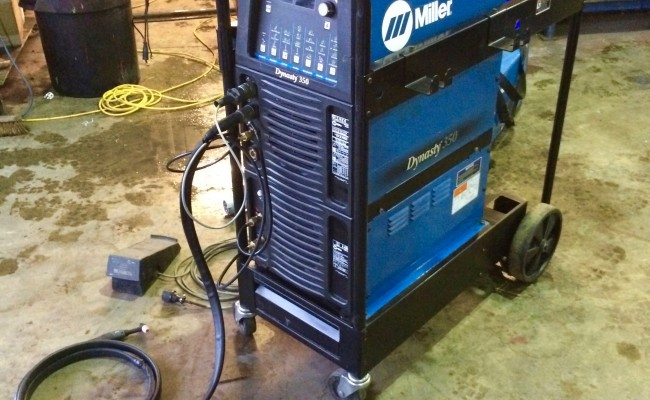 3. Miller Dynasty 350 AC:DC Water Cooled TIG Welder Inverter Complete Package for Hire or to Buy
