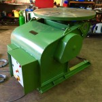 4. BODE 3 Tonne Welding Positioner For Hire and Sale, Fully Reconditioned with Foot Pedal and Pendant Remote Control including brand new machined table