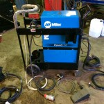 6. Miller Dynasty 350 AC:DC Water Cooled TIG Welder Inverter Complete Package for Hire or to Buy
