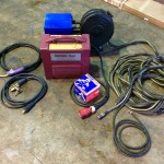 6. Thermal Arc 400GMS Inverter MIG and MMA Welding Machine, Portable Site Hire Equipment Package