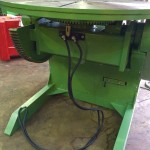 7. BODE 3 Tonne Welding Positioner For Hire and Sale, Fully Reconditioned with Foot Pedal and Pendant Remote Control including brand new machined table
