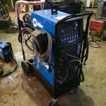 7. Miller Dynasty 350 AC:DC Water Cooled TIG Welder Inverter Complete Package for Hire or to Buy