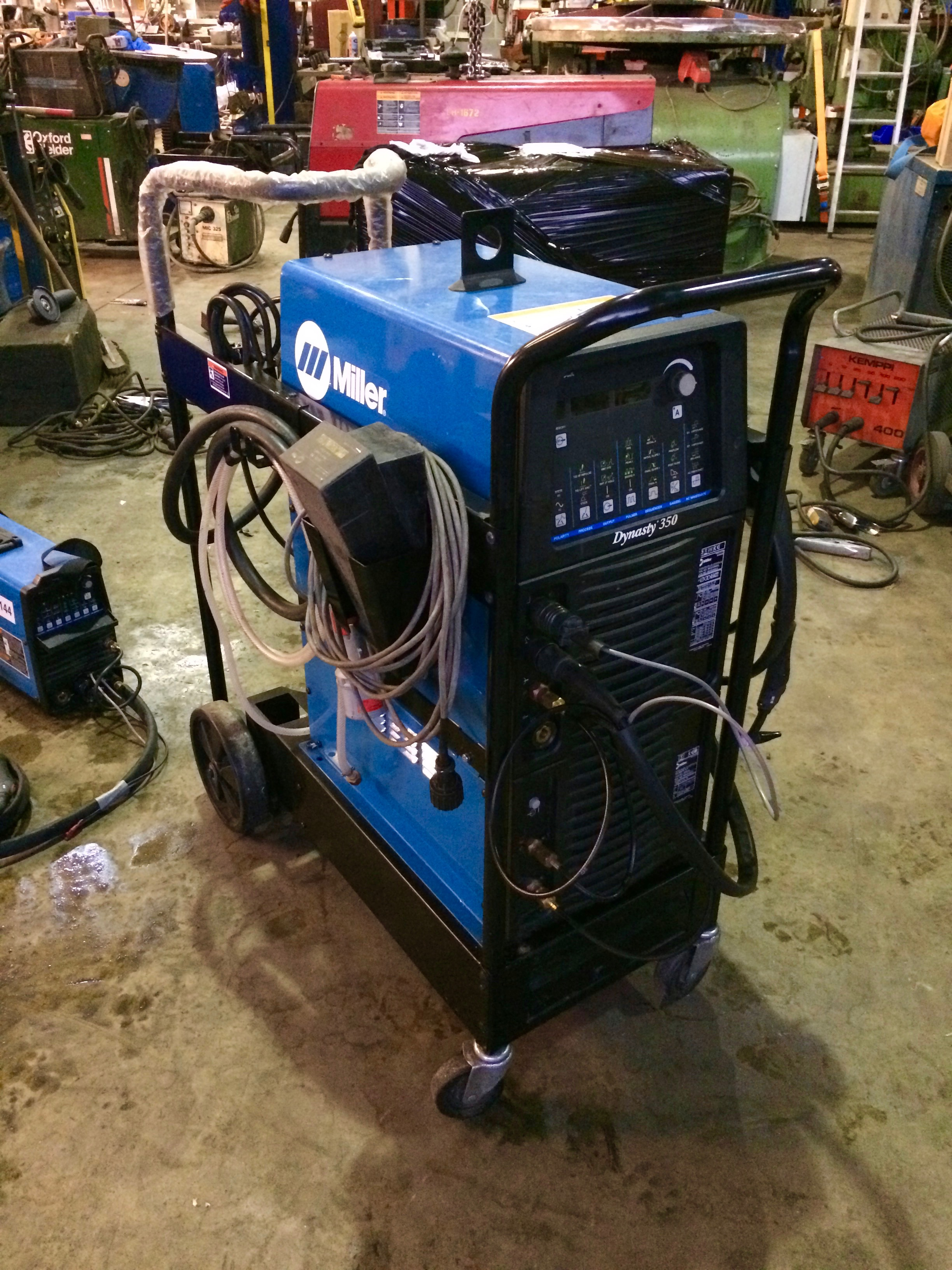 Miller Dynasty 350 AC/DC Water Cooled TIG Welder Inverter