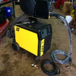1. ESAB Mig 500tw Water Cooled MIG Welding Machine Complete Package for Hire