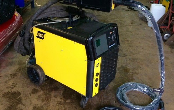 ESAB Mig 500tw Water Cooled MIG Welding Machine Complete Package for Hire