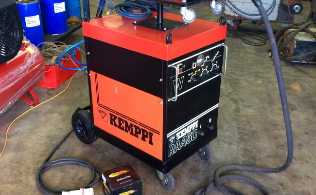 1. Kemppi RA 450 Water Cooled MIG Welding Machine Package for Hire