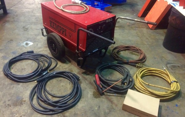 Kemppi Tylarc 653 for Hire: Air Arc Gouging Power Source, Cables and Equipment for Site