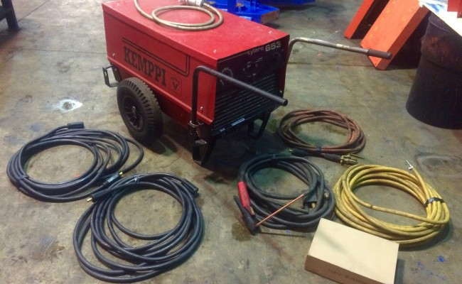 1. Kemppi Tylarc 653 Air Arc Gouging Power Source and Cables for Hire