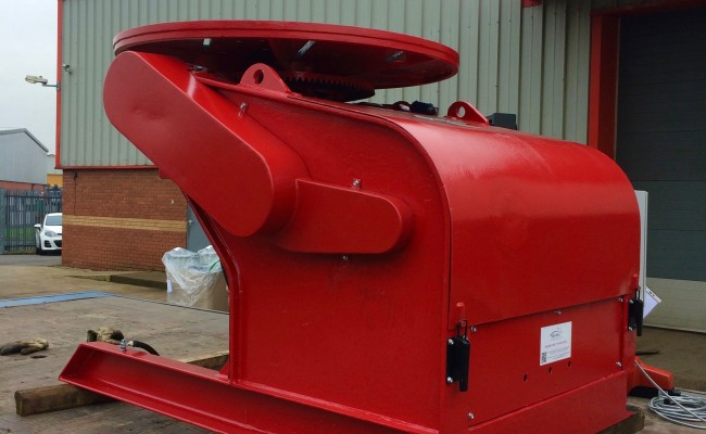 10. BODE 3 Tonne Welding Positioner 415V Fully Reconditioned and Sold For Crated International Shipment
