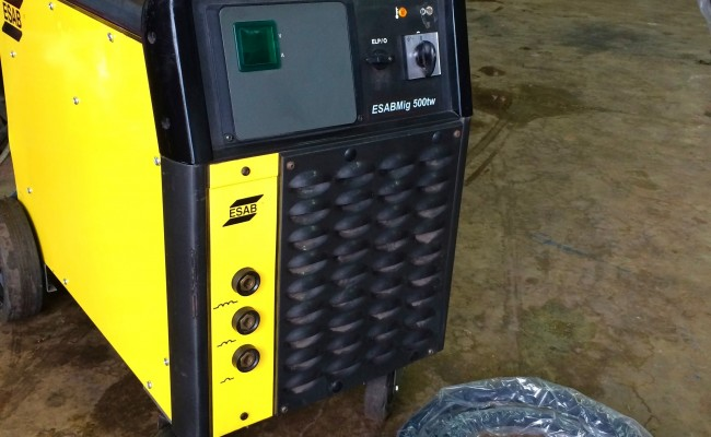 2. ESAB Mig 500tw Water Cooled MIG Welding Machine Complete Package for Hire