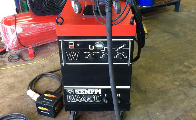 2. Kemppi RA 450 Water Cooled MIG Welding Machine Package for Hire