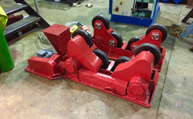 3. BODE 3 Tonne SAR Self Aligning Welding Rotators, 415V