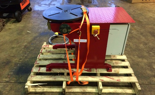 3. Brand New 250kg Welding Positioner 110V, Modified In-House with 4 Meter Pendant Remote Control and Variable Speed for Sale and Hire