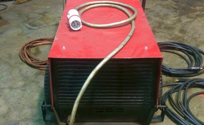 4. Kemppi Tylarc 653 Air Arc Gouging Power Source and Cables for Hire