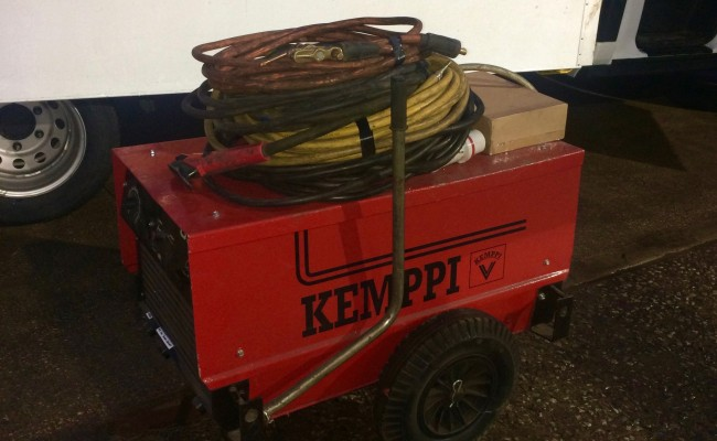 6. Kemppi Tylarc 653 Air Arc Gouging Power Source and Cables for Hire