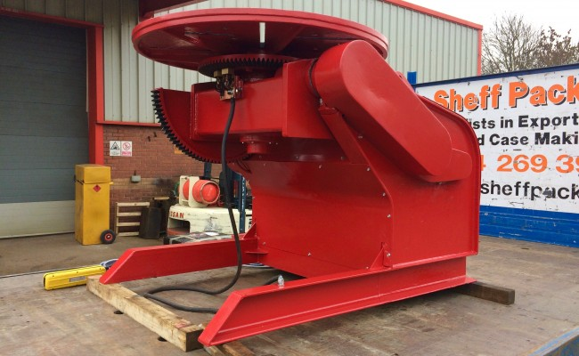 8. BODE 3 Tonne Welding Positioner 415V Fully Reconditioned and Sold For Crated International Shipment