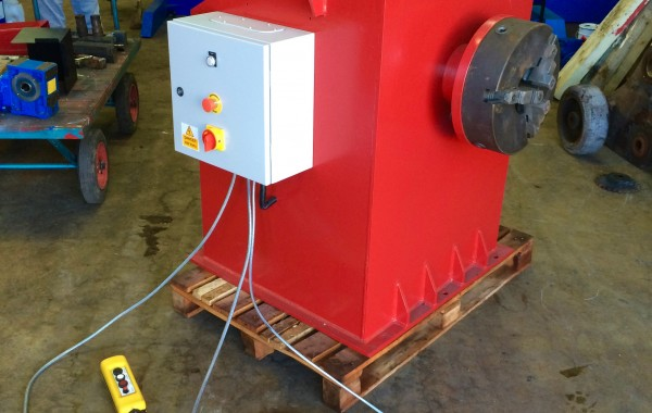 2 Tonne Headstock and Tailstock Welding Positioner Fully Reconditioned