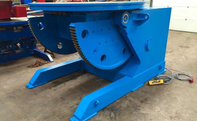 1. Brand New 10 Tonne Welding Positioner