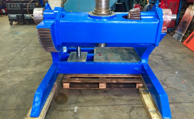 10. BODE 5 Tonne Welding Positioner Fully Reconditioned, Refurbishment Process