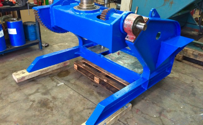11. BODE 5 Tonne Welding Positioner Fully Reconditioned, Refurbishment Process