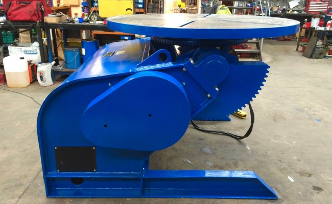 16. BODE 5 Tonne Welding Positioner Fully Reconditioned, Refurbishment Process