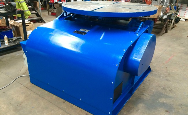 17. BODE 5 Tonne Welding Positioner Fully Reconditioned, Refurbishment Process
