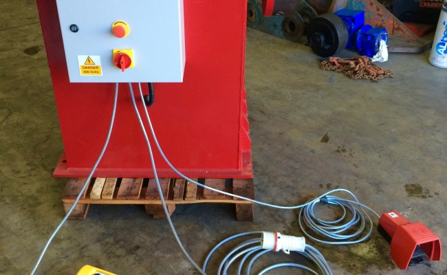 2. 2 Tonne Headstock and Tailstock Welding Positioner Reconditioned
