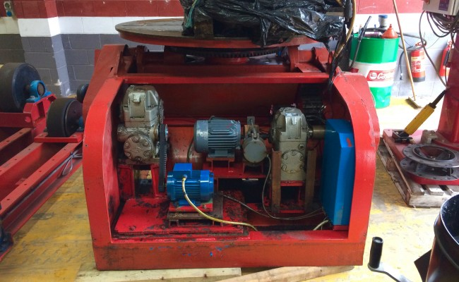 2. BODE 5 Tonne Welding Positioner Fully Reconditioned, Refurbishment Process