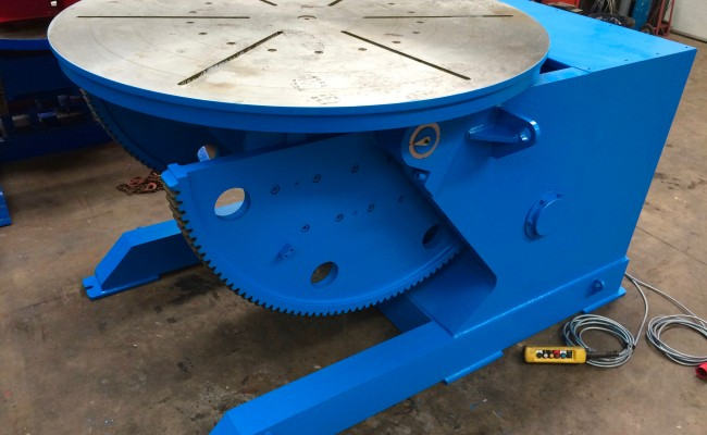 2. Brand New 10 Tonne Welding Positioner