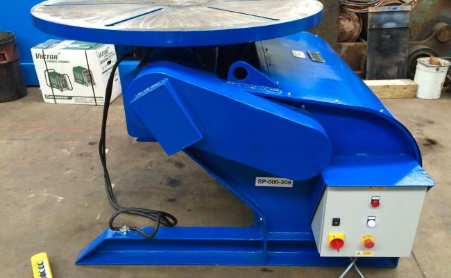 21. BODE 5 Tonne Welding Positioner Fully Reconditioned, Refurbishment Process