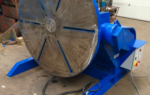 BODE 5 Tonne Welding Positioner Fully Reconditioned for Hire or Sale, Refurbishment Process