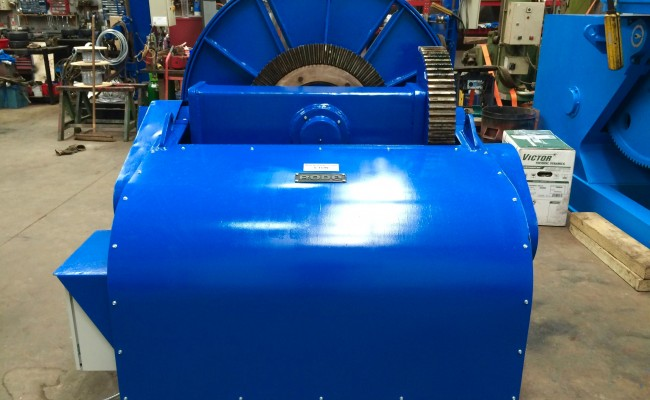 25. BODE 5 Tonne Welding Positioner Fully Reconditioned, Refurbishment Process