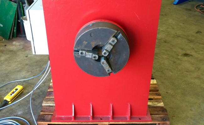 3. 2 Tonne Headstock and Tailstock Welding Positioner Reconditioned