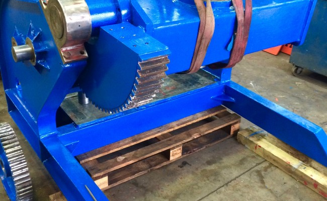 3. BODE 5 Tonne Welding Positioner Fully Reconditioned, Refurbishment Process
