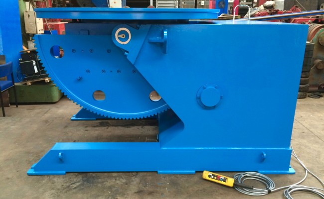3. Brand New 10 Tonne Welding Positioner
