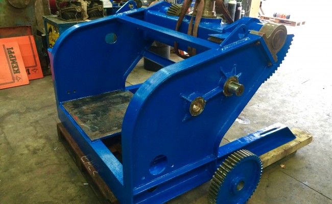4. BODE 5 Tonne Welding Positioner Fully Reconditioned, Refurbishment Process