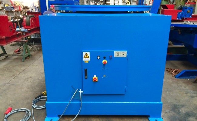 4. Brand New 10 Tonne Welding Positioner