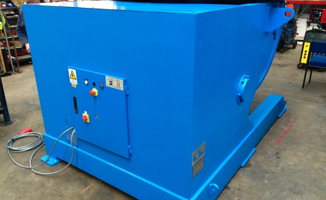 7. Brand New 10 Tonne Welding Positioner