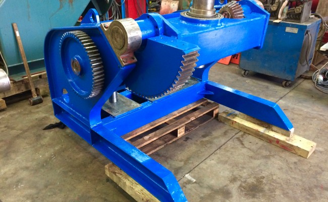 9. BODE 5 Tonne Welding Positioner Fully Reconditioned, Refurbishment Process