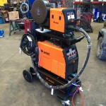 1. Jasic MIG 450 Water Cooled MIG Welder Inverter Package