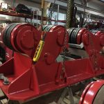 1. Reconditioning BODE SAR 2000 100 Tonne Self Aligning Welding Rotators for Hire or to Buy
